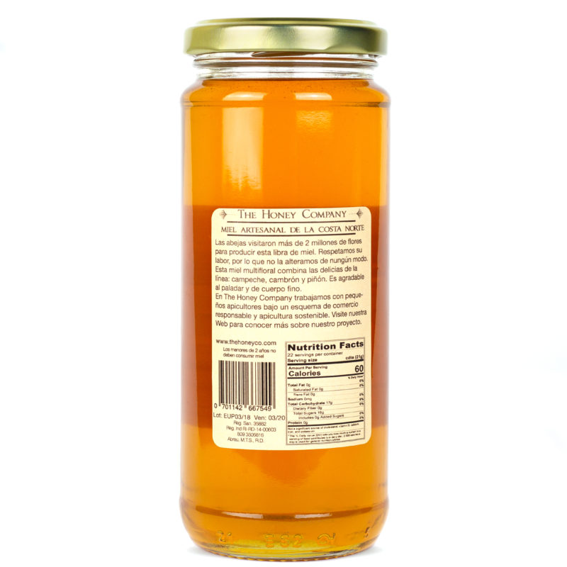 Multifloral Honey – 16 oz